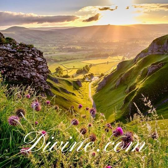 Mountains with Divine.com